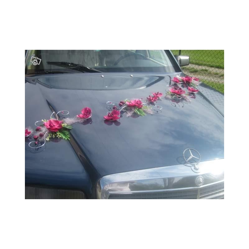 D coration de voiture pour mariage avec de belles for Decoration voiture