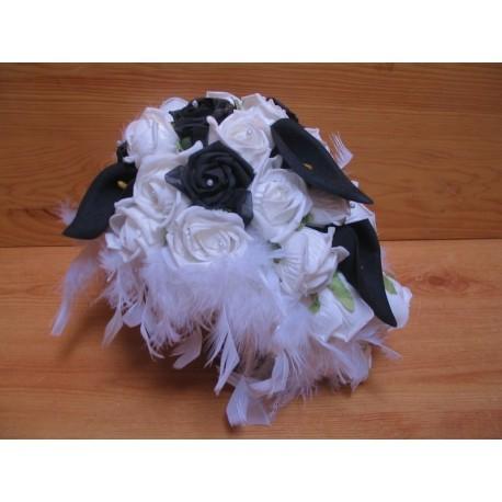 Bouquet mariée esprit baroque