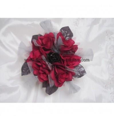 bouquet, boutonnière et collier