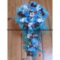 Commande Mariage 6301: Bouquet, boutonnière et composition florale
