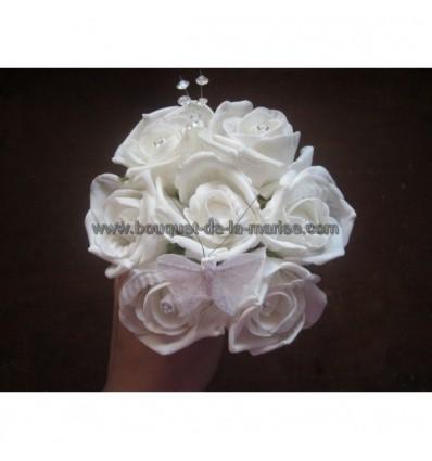 Bouquet demoiselle d'honneur papillon