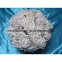 Commande Mariage n°238: bouquet, boutonnières, bracelets et déco de voiture