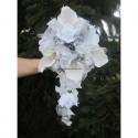Bouquet Mariée Tombant thème Angélique Couleur Argent ou Or