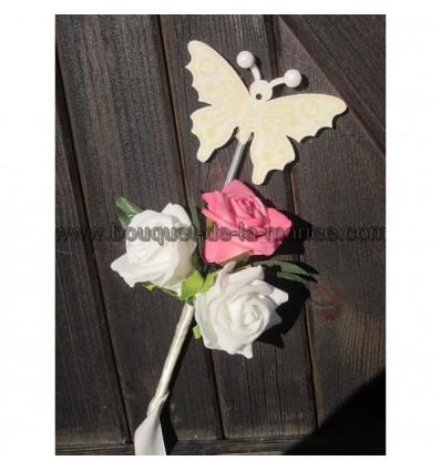 Bouquet papillon demoiselle d'honneur