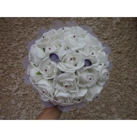 Bouquet mariée ivoire
