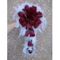 Bouquet de Mariée tendance, Tombant thème Amour