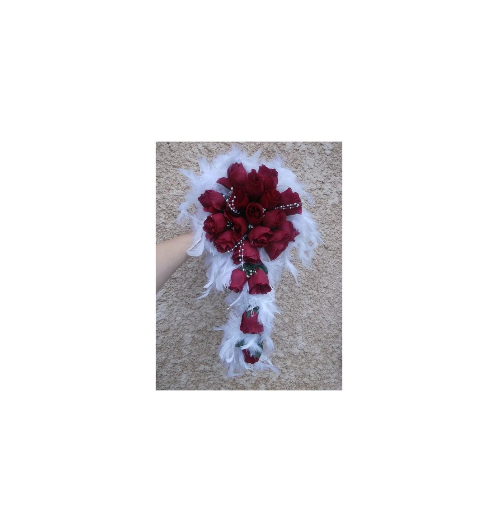 Bouquet de mari e tendance tombant th me amour bouquet for Commande bouquet de fleurs pas cher