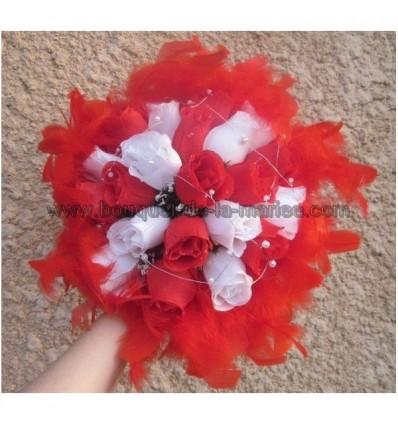 Promo Bouquet Rond theme plumes