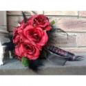 Lot Mariage M SULC: Bouquet, décoration de voiture, compositions