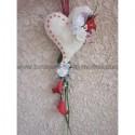 """Bouquet de mariage cascade DESIGN thème """"cœur arums"""""""