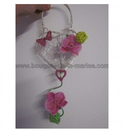 Bouquet sac a main demoiselle d'honneur