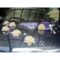 Exceptionnelle! Composition de voiture pour mariage thème prune