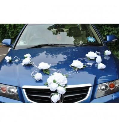 CHIC decoration voiture mariage