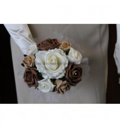 bouquet demoiselle d'honneur chocolat caramel