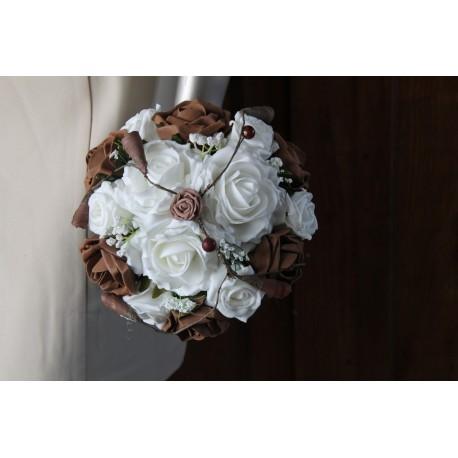bouquet chocolat perles