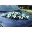 promo du jour gerbe de voiture de mariage couleur blanc et vert bouquet de la mariee. Black Bedroom Furniture Sets. Home Design Ideas