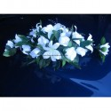 Décoration de voiture ou de table de Mariage Élégant avec roses,lys