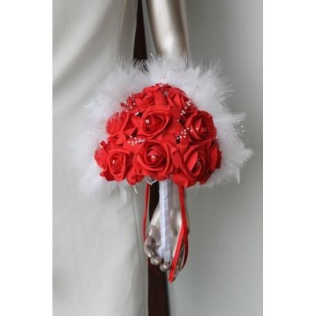 bouquet mariée éventail