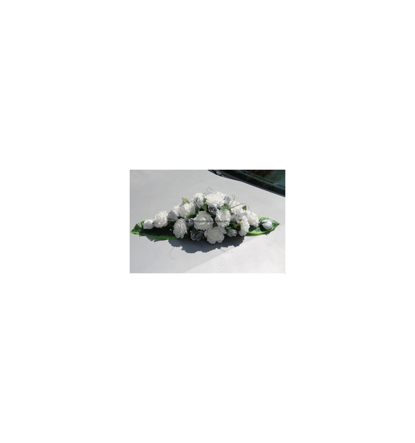 Decoration Voiture Mariage Gris Et Rose : Decoration voiture mariage gris et rose design de maison