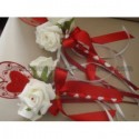 """Bouquet demoiselle d'honneur pour mariage thème """"COEUR"""""""
