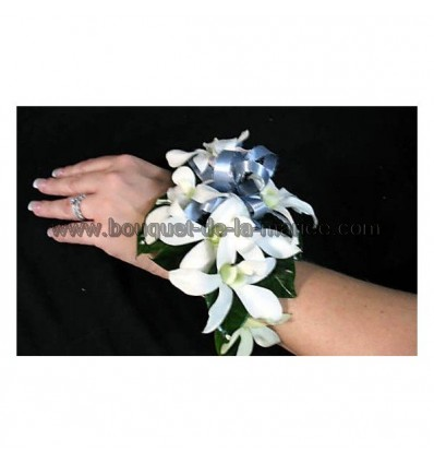 Bracelet des Lys ivoire ou blanc