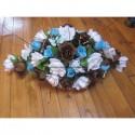 Décoration de voiture de mariage, 65cm, Roses -Choix des couleurs!