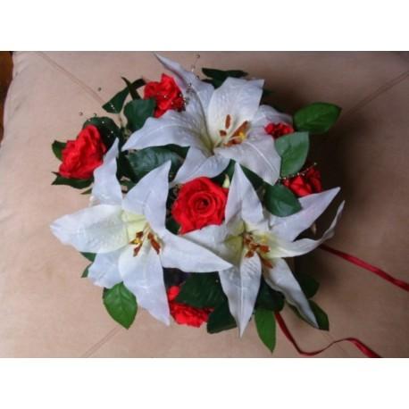 bouquet mariée rond 30cm