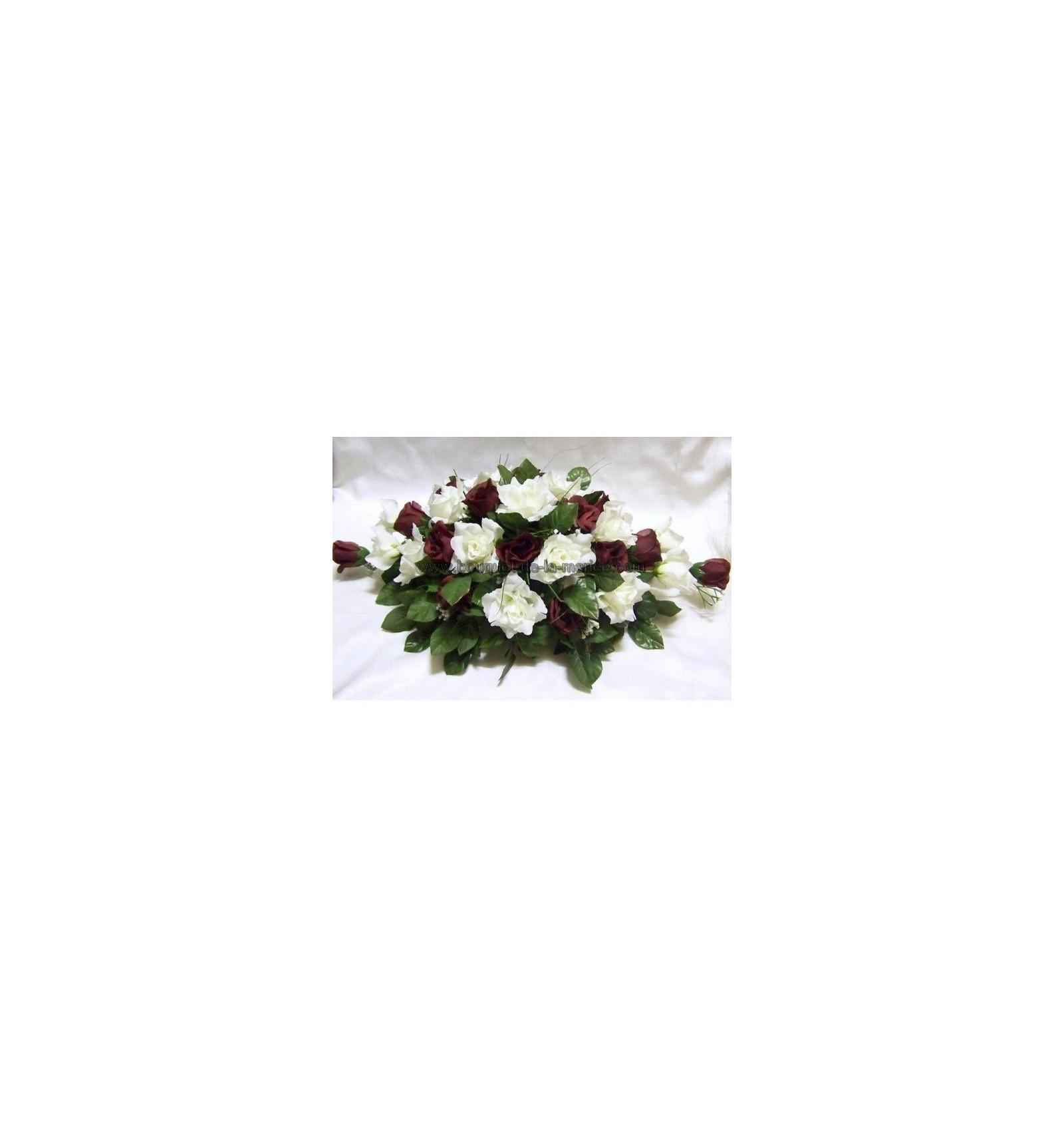 D coration pour voiture de mari e avec des roses perles for Decoration avec des roses