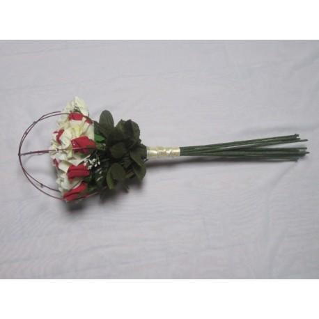 bouquet mariée tiges longues