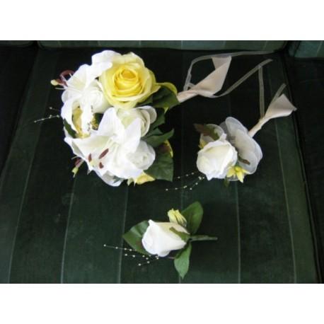 Bouquet Rond Soleil