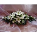 Composition florale pour voiture de mariage avec Choix des couleurs!