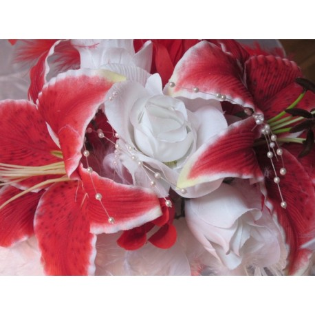 Bracelet fleurs mariée