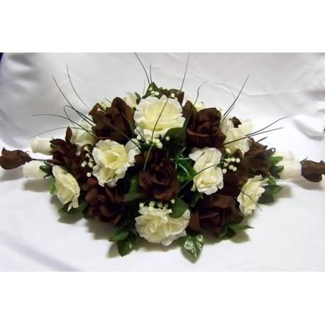 D coration de table pour c r monie mariage 50 cm avec for Decoration avec des roses