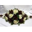 Décoration de table pour cérémonie, mariage: 50 cm avec des Roses
