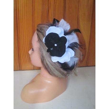 Peigne de cheveux orchidée